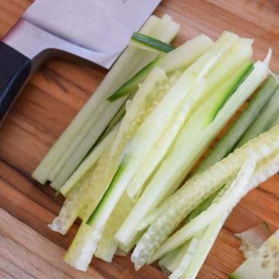 Cucumber Strips